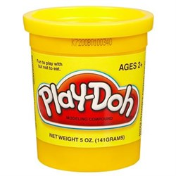 Пластилин Play-Doh Hasbro желтый - фото 39079