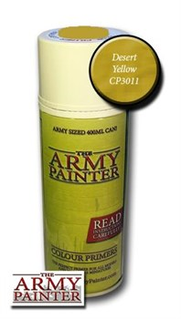 Краска грунтовка Спрей Army Painter Colour Primer Desert Yellow CP3011 - фото 42055