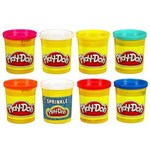 Пластилин Play-Doh Hasbro Промо набор, 6+2 цветов - фото 36105
