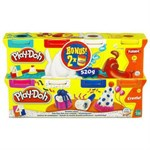 Пластилин Play-Doh Hasbro Промо набор, 6+2 цветов - фото 36106