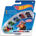 Мотофристайл набор из 4-х мотоциклов с трюковыми модулями Hot Wheels Т16719